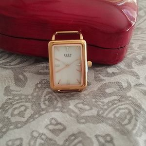 KEEP Collective rose gold watch